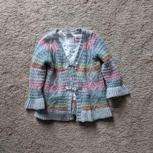 Baby Girl Matching Shirt & Sweater Little Lass